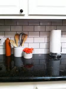 Best Grout For Kitchen Backsplash by I The Grout With The White Subway Tile I Also