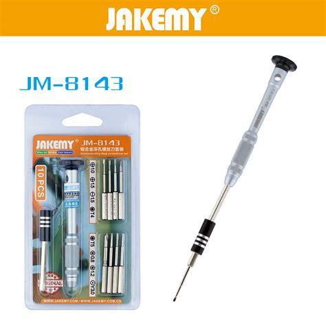 Jakemy 2 0mm Precision Aluminium Alloy Phillips Screwdriver Jm 8147 jakemy jm 8143 10 in 1 aluminium alloy screwdriver tools kit tvc mall