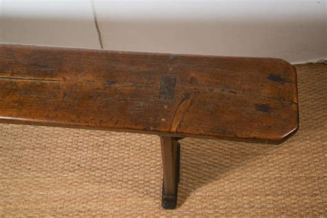 vintage wooden bench antique french wood bench at 1stdibs