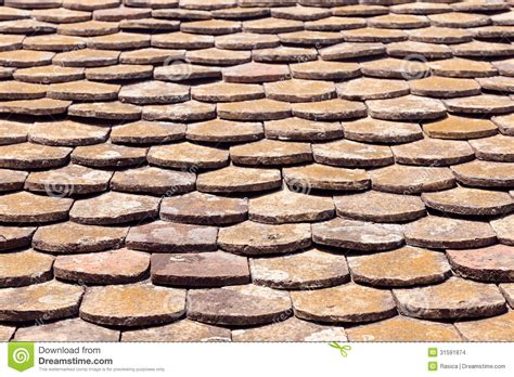 Terracotta Tile Roof Terracotta Roof Tiles Stock Images Image 31591874