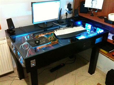 diy gaming computer desk custom gaming desk google search diy pinterest