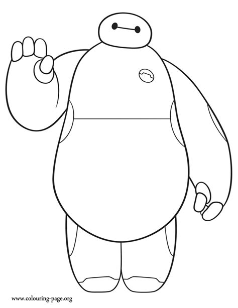 coloring pages big hero 6 free coloring pages of baymax