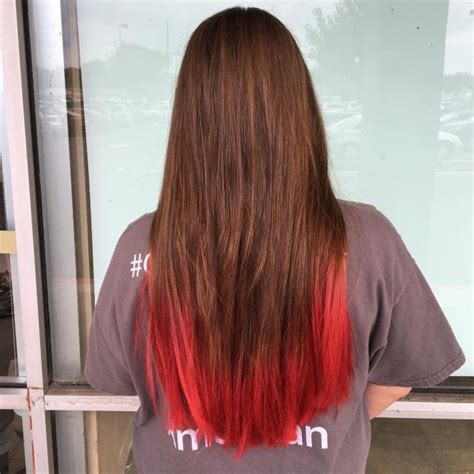 how to dye tips of hair with red kool aid for black hair bright red hair ideas for 2017 new hair color ideas amp