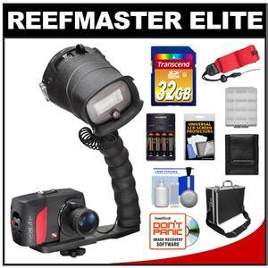 sealife reefmaster mini elite set digital underwater dive