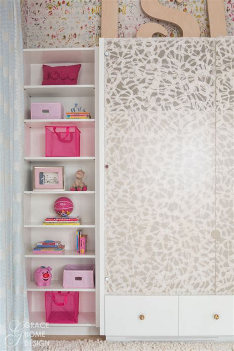 custom bedroom cabinetry colorful girl s bedroom grace home design simplified bee
