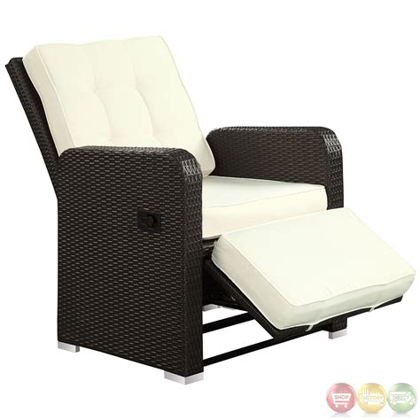patio recliner commence modern outdoor patio armchair recliner