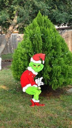 azcentral lights map standing grinch stealing lights handmade wood yard display