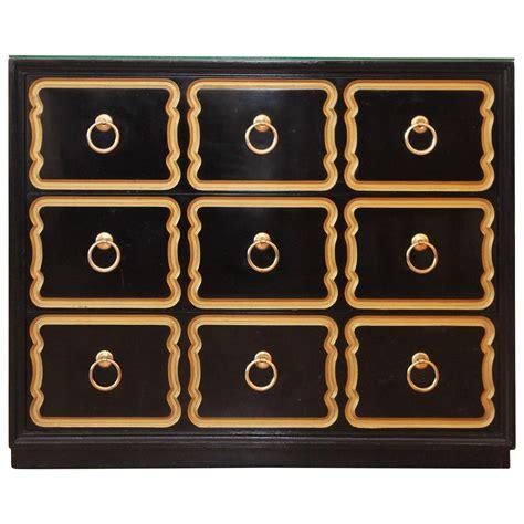 dorthy draper dorothy draper black lacquer 3 drawer espana chest an