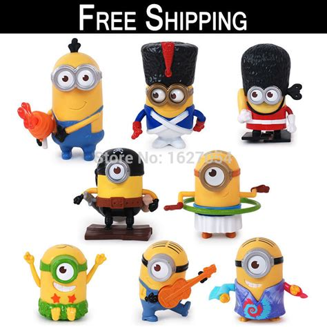 Happy Meal Despicable Me3 free shipping 2015 despicable me 3 mcdonalds happy meal minions animation figure dolls