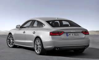 audi a5 sportback planned for the u s but not a4 diesel