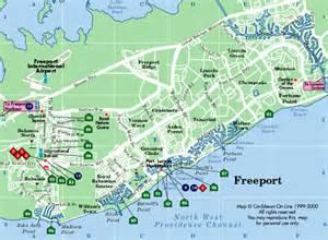 map freeport freeport bahamas map