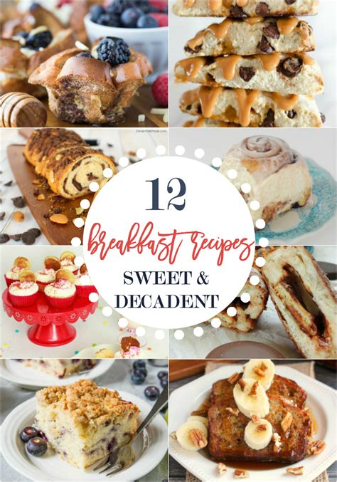 12 decadent and sweet weekend breakfast recipes home stories a to z
