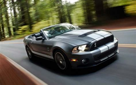 2011 ford mustang shelby cobra specs