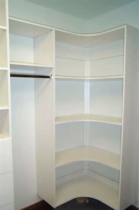 Corner Closet Systems by 1000 Ideas About Master Closet Layout On
