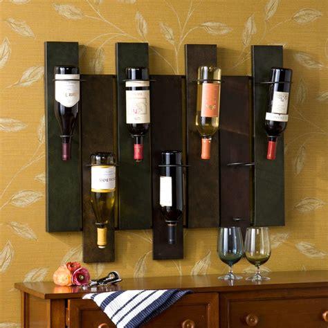amazon com sei navarra wall mount wine rack wall wine holder