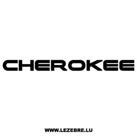 jeep beach logo jeep cherokee decal