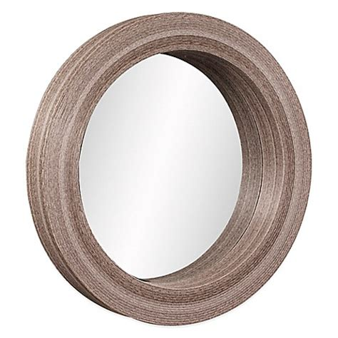 40 inch mirror buy howard elliott pier 40 inch mirror in gray from