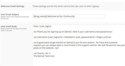 How To Send A Custom Welcome Email To New Users In Wordpress Thank You For Signing Up Email Template