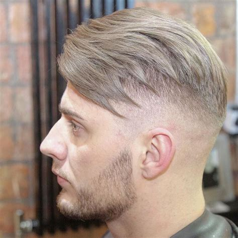 textured top faded sides new hairstyles for men natural finish movement