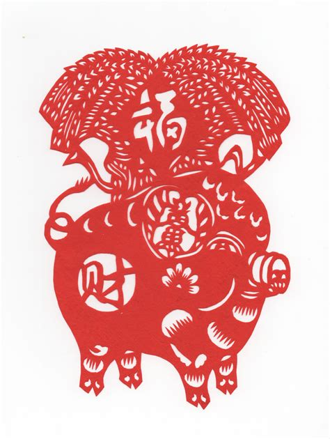 new year pig meaning papercut year of the pig new year