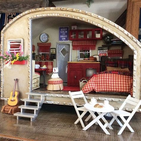 doll house trailer 17 best images about cers tents on pinterest gypsy caravan vintage trailers