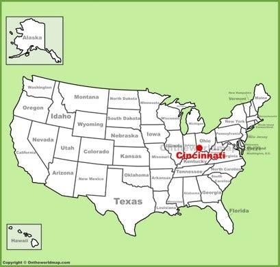cincinnati maps | ohio, u.s. | maps of cincinnati