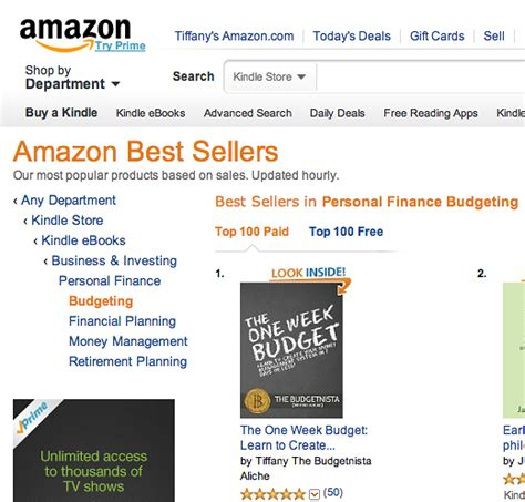 amazon s best seller rank books stuff the budgetnista