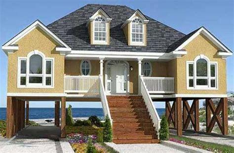 Lowcountry House Plans by Casa De Dos Niveles Planos De Casas Gratis