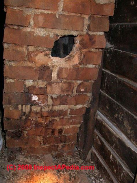 Chimney Leaking Water Into Fireplace by Chimney Caused Stains On Building Interior Surfaces