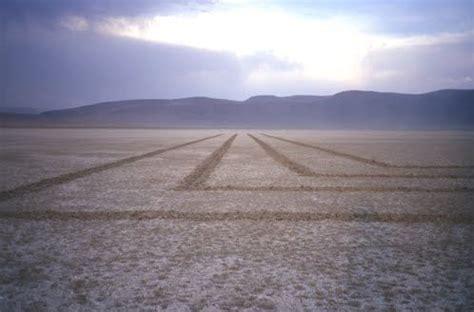 mystery of sri yantra geoglyph in oregon dry lake bed