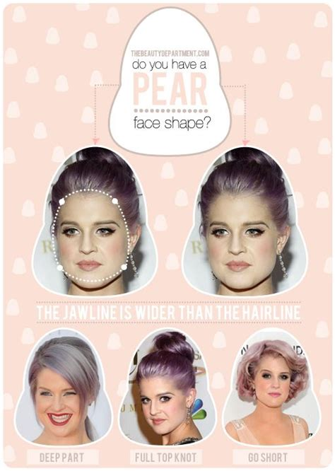 hairstyles for pear shaped faces hair talk pear shaped faces the beauty department hair