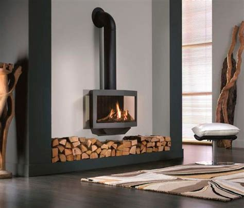 wanders stealth balanced flue gas fireplace stove modern