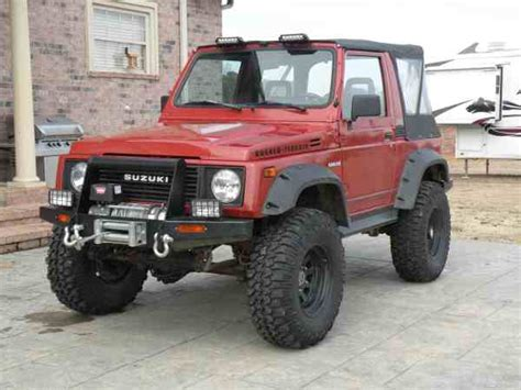 1986 Suzuki Samurai For Sale 1986 Suzuki Samurai Convertible For Sale In Az