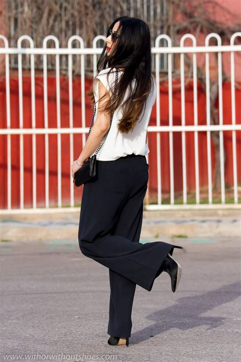 shoes  wear  palazzo pants  complete