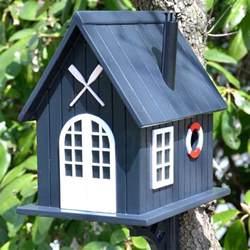 boat house birdhouse yard envy