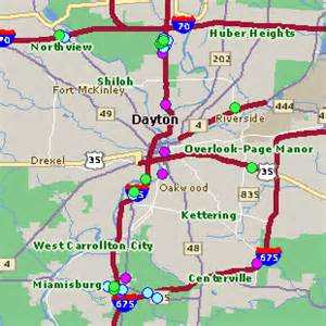 Casinos In Ohio Map by Dayton Oh Hotel Rates Comparison Amp Reservations Guide Map
