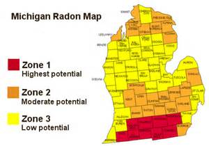united states radon map inspections llc radon testing