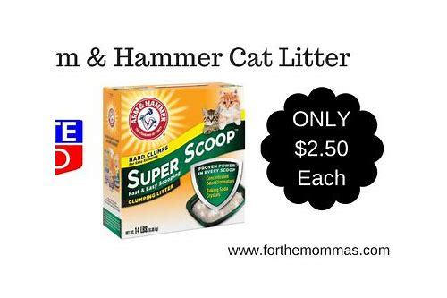 arm and hammer cat litter coupons canada