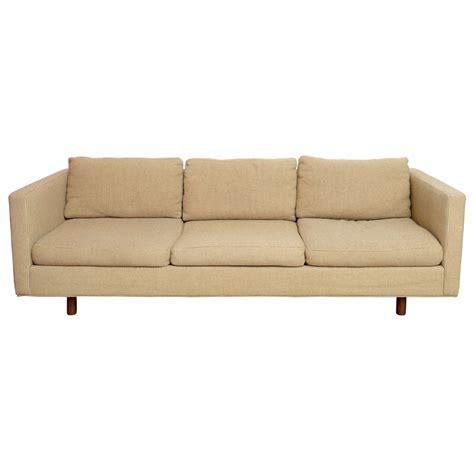 baughman sofa milo baughman sofa for thayer coggin at 1stdibs