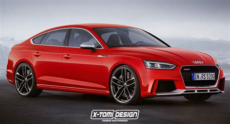 audi s new a5 sportback tries on an rs suit faster than