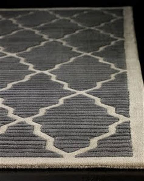 Gray And White Trellis Rug by Beau Lifestyle Horchow Mirrors