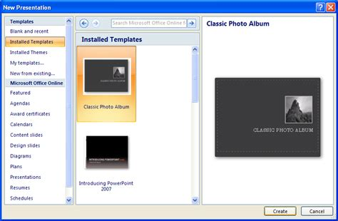 Create A Presentation With A Template Presentation Operations 171 Introduction 171 Microsoft Microsoft Powerpoint 2007 Templates