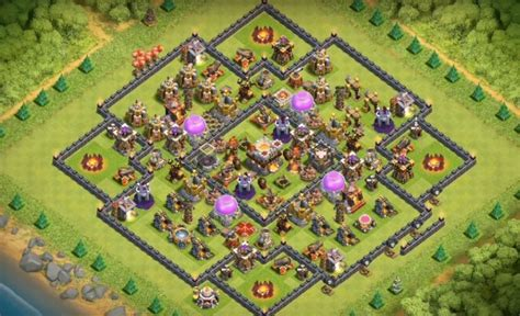clash of clans th10 war base layout 6 legendary th10 war base layouts farming base layouts