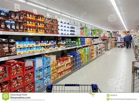Etagere Lidl by Aldi Supermarket Editorial Stock Image Image Of Countries