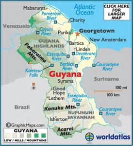 georgetown south america map pics of guyana