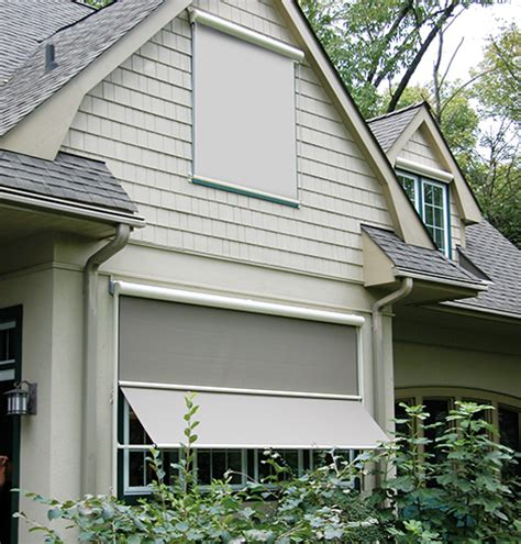 Aristocrat Awnings by Exterior Solar Shades Motorized Solar Shades Aristocrat Awnings