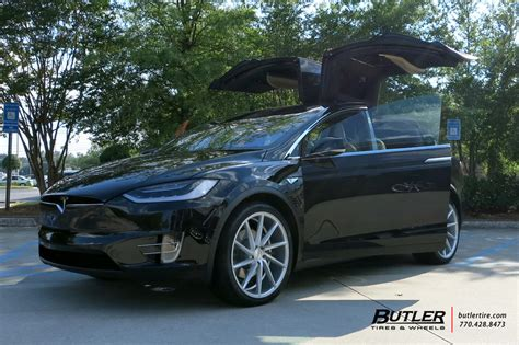 tesla model    vossen cvt wheels exclusively  butler tires  wheels  atlanta