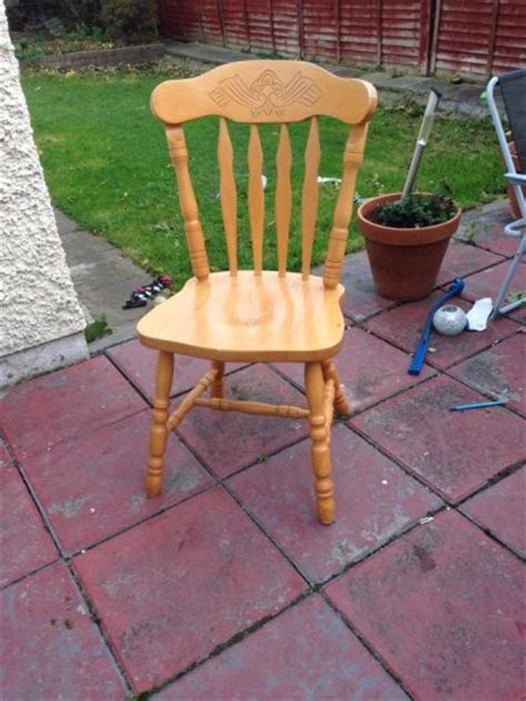 country style pine table and chairs 6 solid pine country style kitchen chairs for sale in