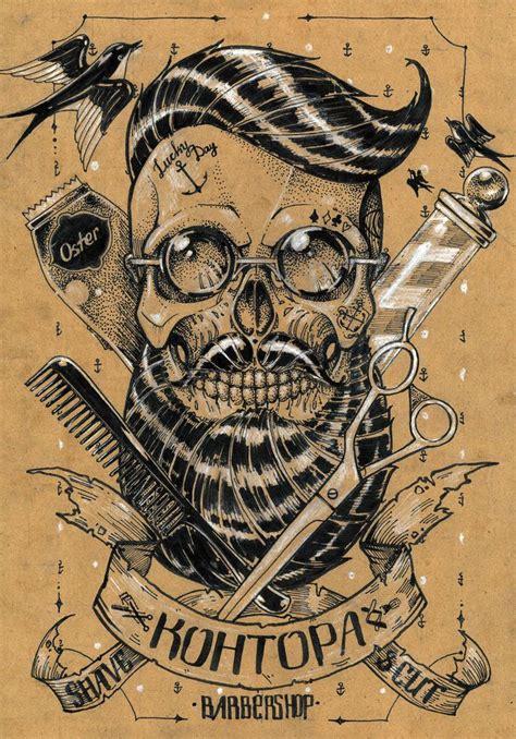 barber tattoo logo 491 best barbershop stuff images on pinterest barber
