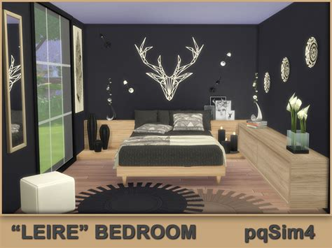 sims 4 schlafzimmer quot leire quot bedroom sims 4 custom content